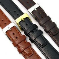 Montana Men's Size Fine Flat Calf Leather Watch Strap 3 Colours 16mm - 22mm D015
